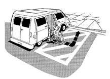 Handicap van parking regulations